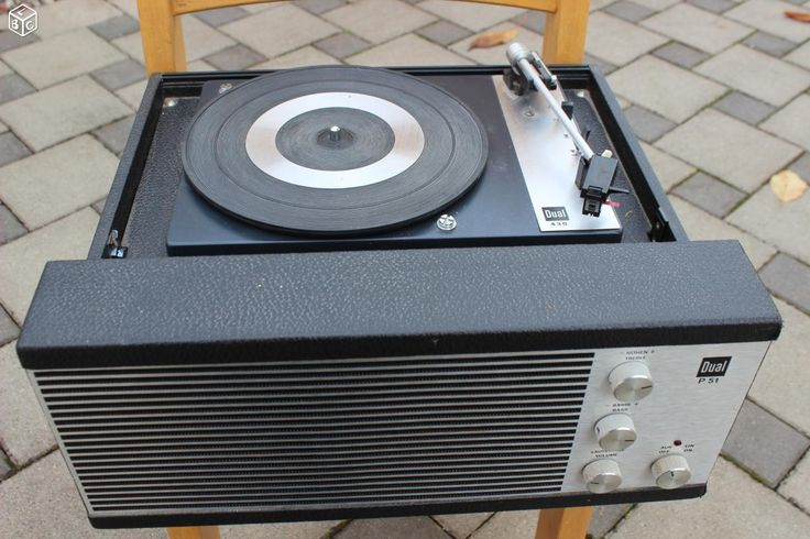 Tourne disque Platine vinyle Vintage dual