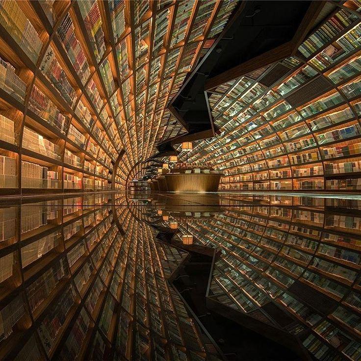 """229 Beğenme, 1 Yorum - Instagram'da Arkitera (@arkitera): """"Şangay merkezli mimarlık firması XL-Muse, alışılmışın dışındaki kütüphane tasarımıyla…"""""""