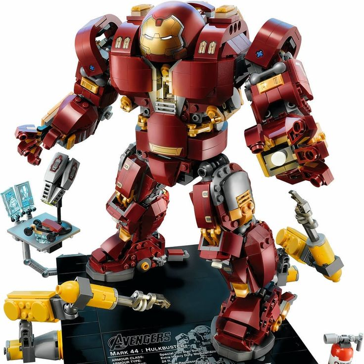 Watch out Hulk! The 76105 LEGO Marvel Super Heroes Hulkbuster: Ultron Edition comes smashing in on March 3rd! 1363 pieces. Ages 14. US US $119.99 - CA $149.99 - DE 129.99 - UK 119.99 - DK 1199DKK. (No VIP Early Access.) Includes Iron Man Mark XLIII exclusive minifigure. #lego #legoucs #ucs #legomarvel #marvelsuperheroes #hulkbuster #hulkbusterultronedition #hulkbusterucs #ironmanucs #legoironman #ironmanmark43 #ultronedition #hulkbusterultronedition #lego76105 #76015 #legomarvelsuperheroes…