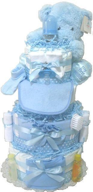 Boy Diaper Cake. Diaper Cake Boy. Baby boy door DiaperCakesbyRuby