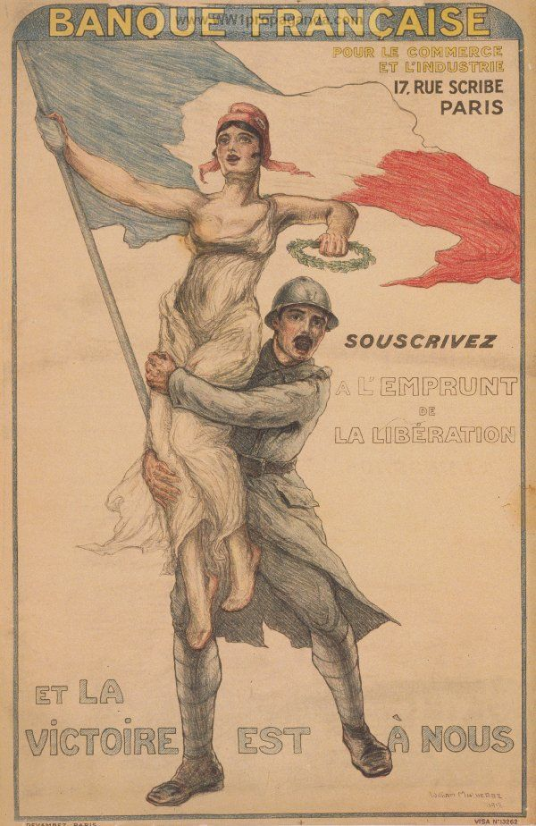Examples of Propaganda from WW1 | French WW1 Propaganda Posters Page 32