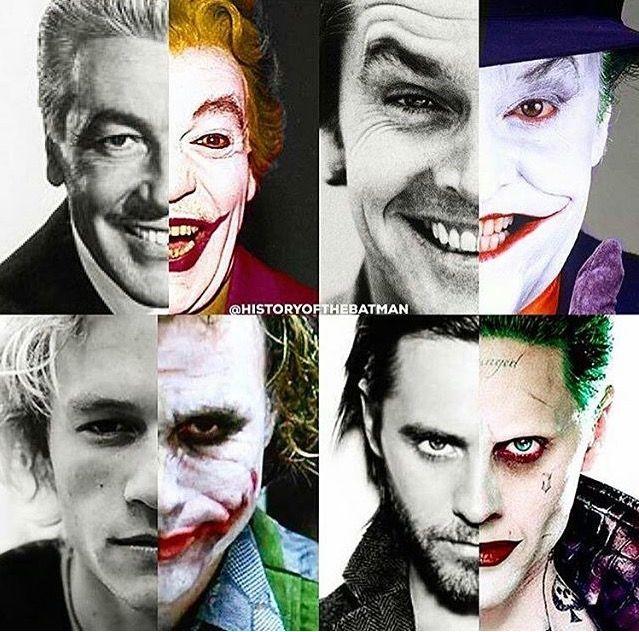 Many faces of the joker