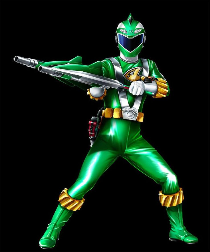 POWER RANGERS RPM - GREEN RANGER by DXPRO