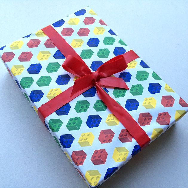 Christmas Wrapping Paper Storage