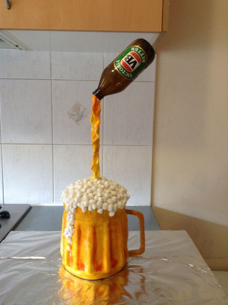 Beer Stein Cake Recipe