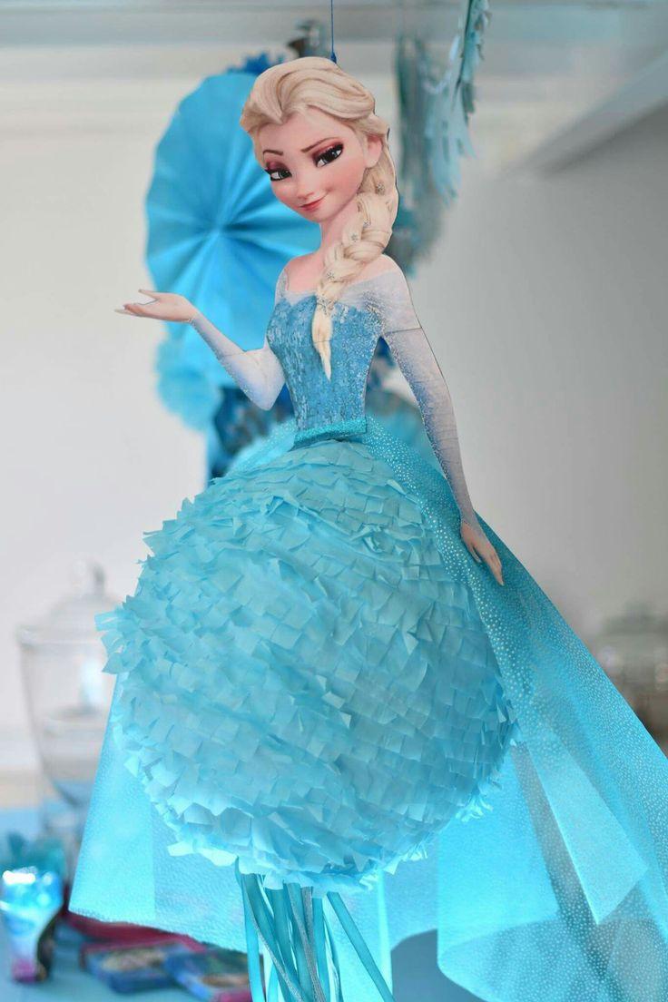 Diy Frozen Pinata Fiesta Frozen Fiesta Tematica Frozen