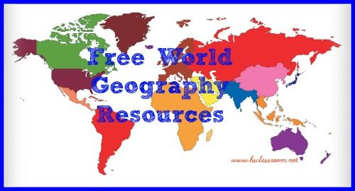 free world geography resources #homeschool