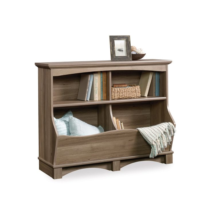 J.Conrad Furniture - Sauder Harbor View Bin Bookcase (420327), $157.99 (https://www.jconradfurniture.com/Sauder-Harbor-View-Bin-Bookcase-420327/)