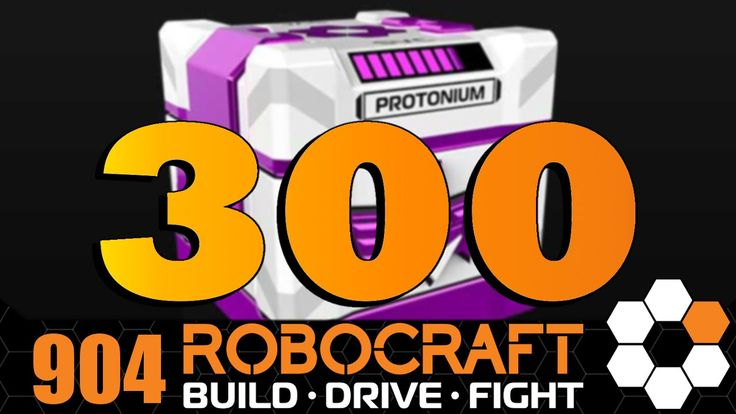 Robocraft EPIC LOOT 300 Protonium Crate Opening! Also what could Freejam...