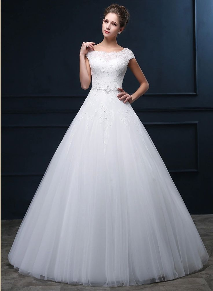 Настоящее фото 2016 модные тюль кружева белое свадебное платье chian белое платье для свадьбы vestidos noivas королева свадебная ME72