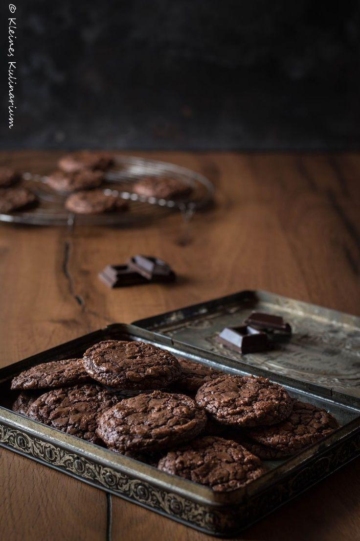 Brownie Cookies - die perfekte Mischung aus Kuchen und Keks