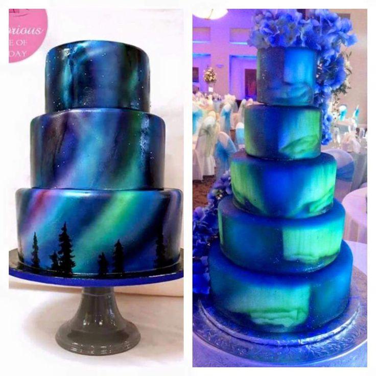 Amazing Northern Lights Cake