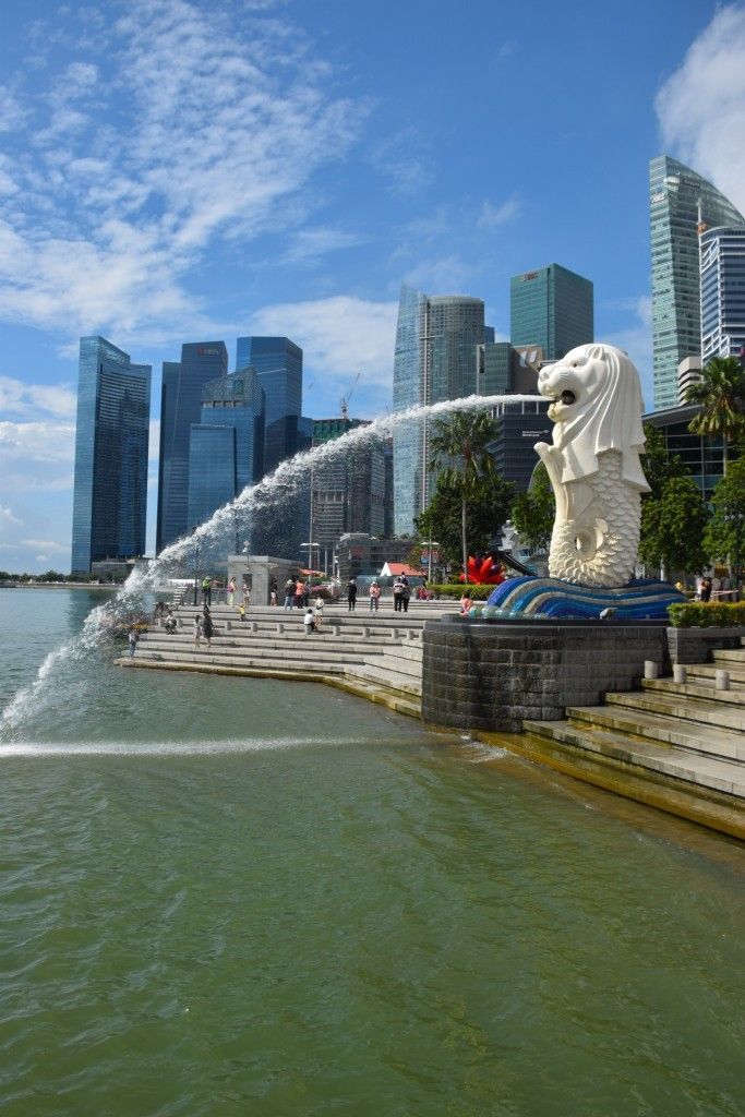 Merlion Park, Singapore: This technologically advanced city-state made for a fascinating stop on my first Round-the-World trip.