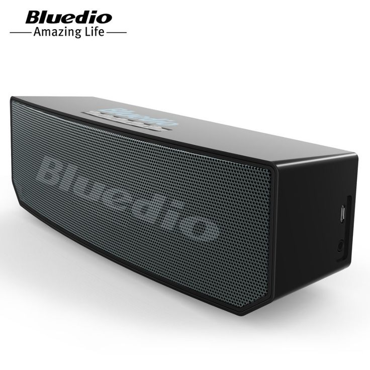 BS-5 Bluedio Mini speaker Portátil Sem Fio Bluetooth speaker Música Sistema de Som 3D estéreo surround