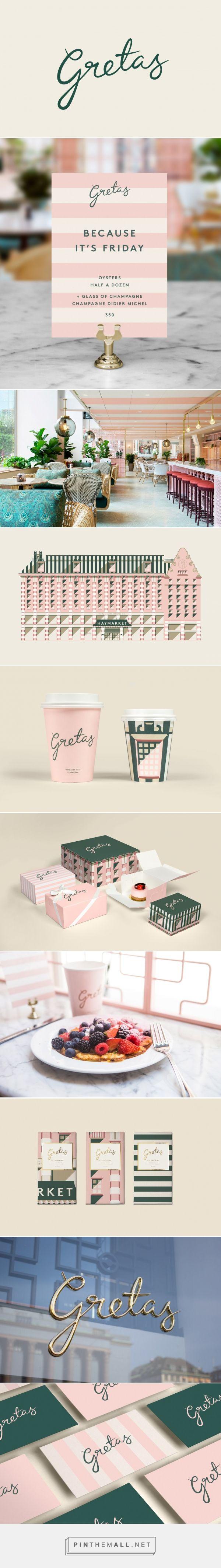 Gretas Cafe Branding by 25AH | Fivestar Branding Agency – Design and Branding Agency & Curated Inspiration Gallery