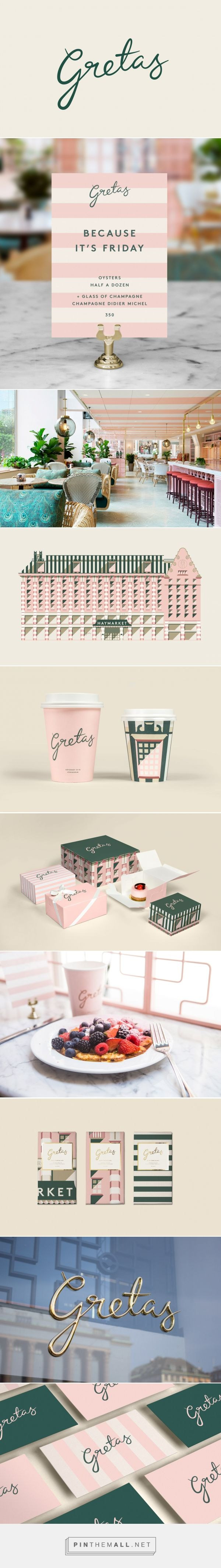 Gretas Cafe Branding by 25AH | Fivestar Branding Agency – Design and Branding Agency & Curated Inspiration Gallery