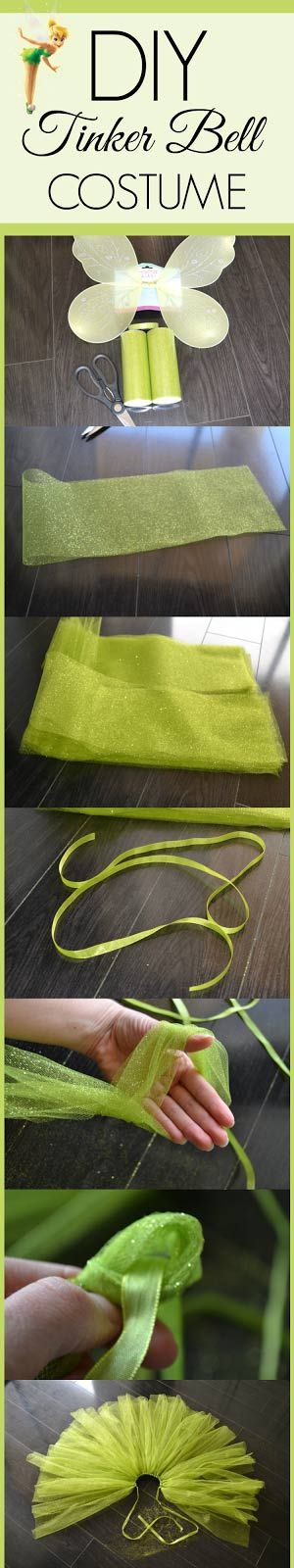 DIY: Tinker Bell Costume | BlogHer