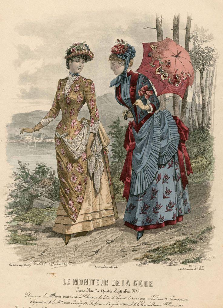 Le Moniteur de la Mode 1884