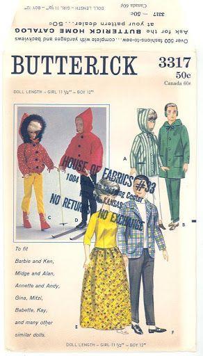 Free Copy of Pattern - Butterick 3317