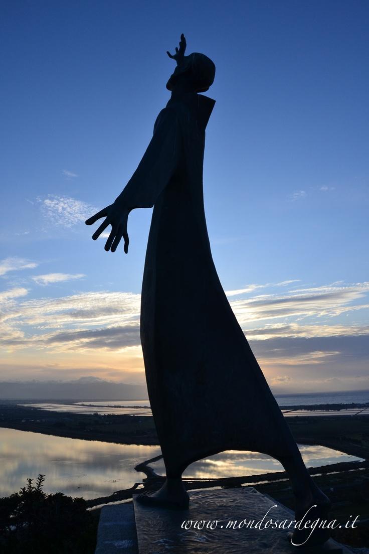 Statua di San Fracesco - Bel Vedere di  - Viale Europa