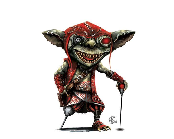 Goblin pirate by shiprock.deviantart.com on @DeviantArt