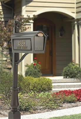 1000 Ideas About Mailbox Post On Pinterest Residential