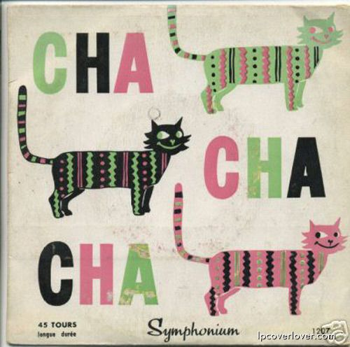 """Cha-Cha-Cha and Mambo"" 45 Picture Sleeve"