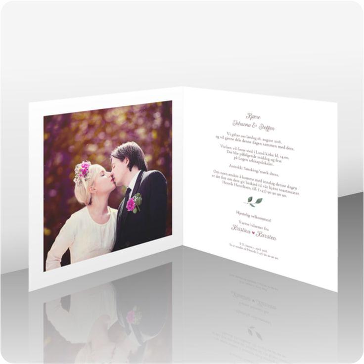 Invitasjon bryllup, 112101
