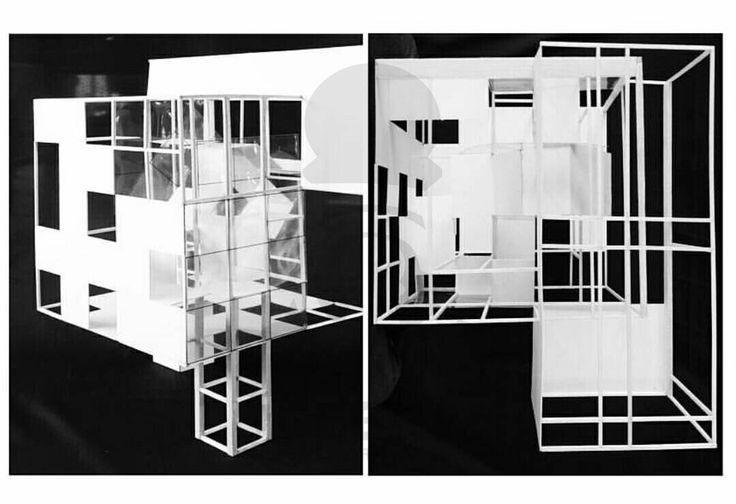 Grid Transformation 3/3_Group 4 (Peter Eissenman's House three)_Arsitektur 2014