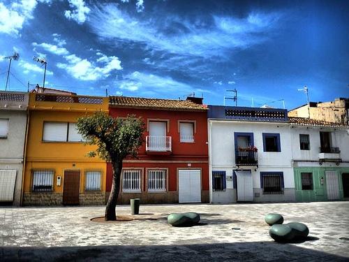 #desdeDenia pasea por sus calles del barrio marinero
