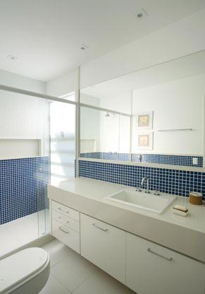 nicho box banheiro: Banheiro Social, Home Your, Banheiro Pastilha, Decoration, De Arquiteta, De Bain, Bathroom, Ideia Para, Boxes Banheiro
