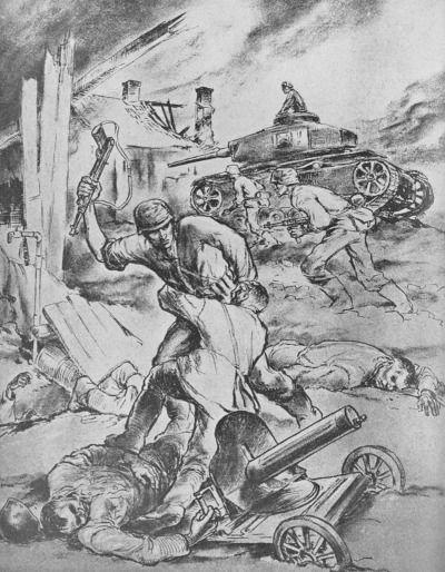 Finn Wigforss was a famous Norwegian artist who served as a war correspondent with Den Norske Legion on Leningrad Front in 1942-1943. These graphic sketches deal with the activities on Leningrad Front and are based on true events.