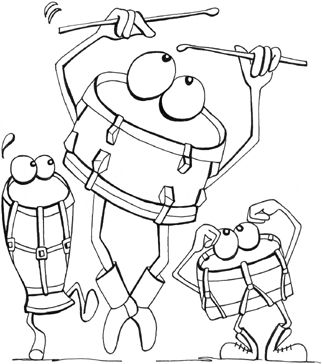 22 Musical-themed Colouring Pages for Kids #colouringpages #coloringpages #kids…
