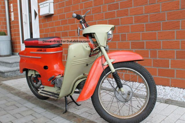 Jawa  Scooter 50/20 vintage 1967 1967 Vintage, Classic and Old Bikes photo
