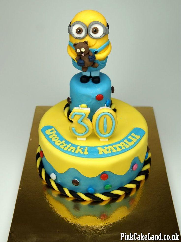 Minions Birthday Cake London - http://www.pinkcakeland.co.uk #minions #cakes #london #uk