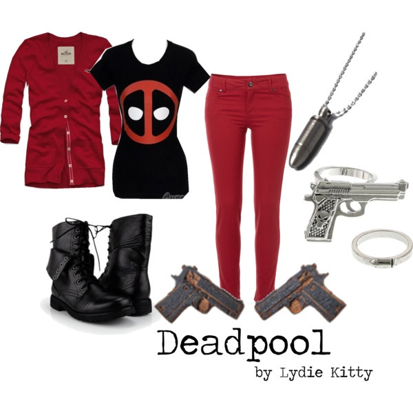 Deadpool...would totally wear this and be proud of my nerdiness cos I know who Deadpool is!