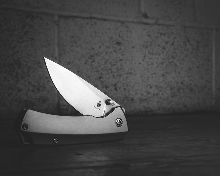 The Kizer Uli Hennicke T1 Folding Knife