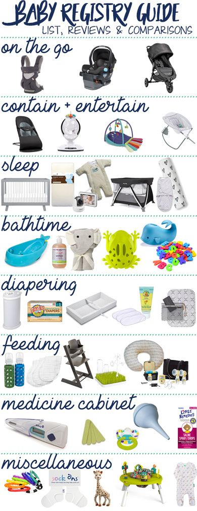 Baby Registry Guide: Lists, Reviews and Comparisons  | WhiningWithWine