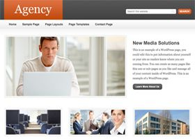 Wordpress theme Agency. Smarter Websites fully customises each them to suit your business.