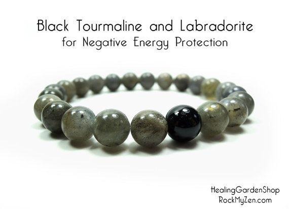 Unisex //  Negative Energy Protection // Black Tourmaline //