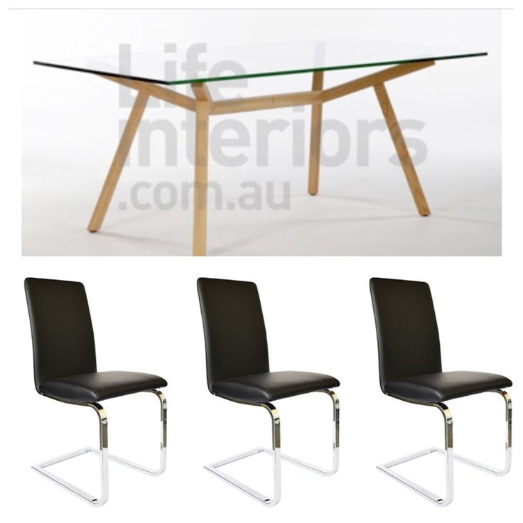 Dining set - black wood on table.. Does it match?