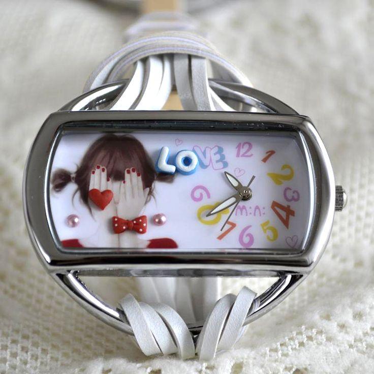 MINI hodinky - Stydlivá