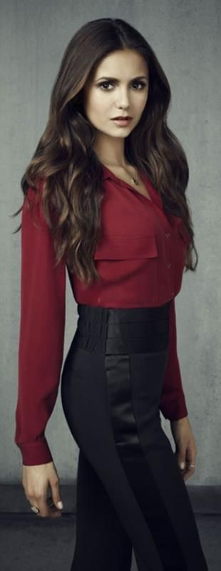 Nina Dobrev ♥ Janice work outfit, or date outfit....