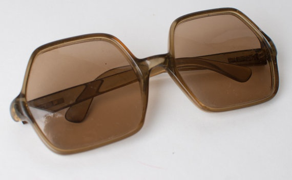 Vintage/Retro Sunglasses 1960s1970s by OneLittleBirdShop on Etsy, £12.00