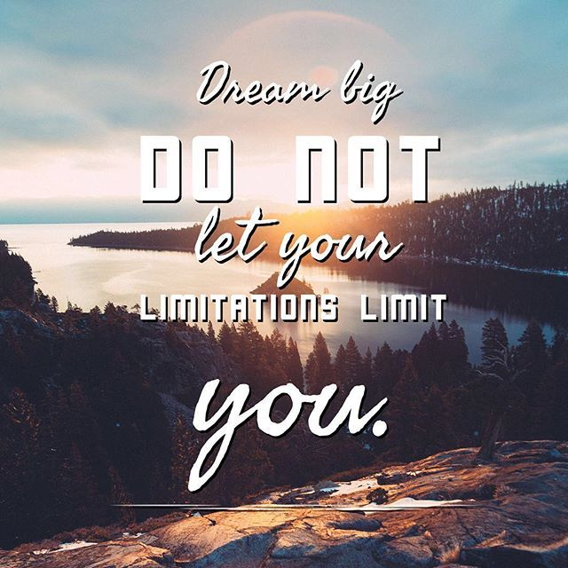 Dream big! You can do what you put your mind to! #quotes