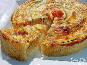 "Tarta de Vegetales ""Otoño Sol"" - Recetas Judias"
