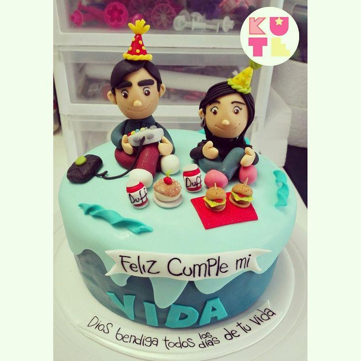 BIRTHDAY CAKE PICNIC CAKE XBOX CAKE