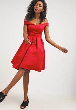 Chi Chi London - JADE - Vestito elegante - red
