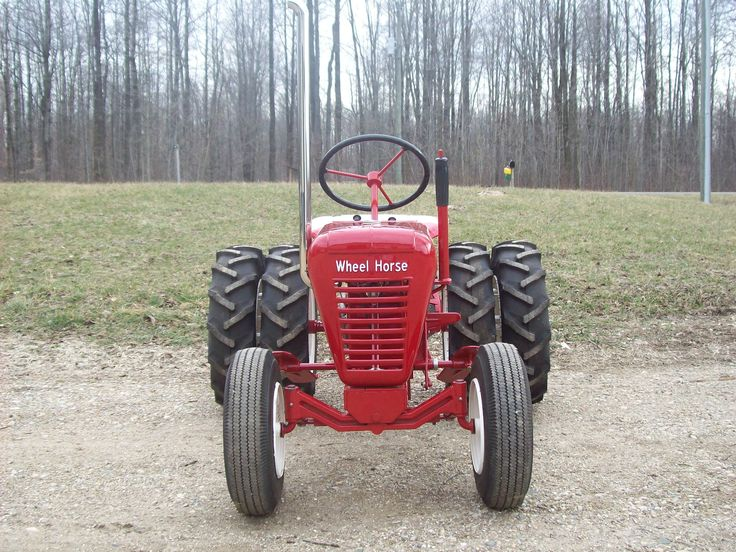 Dual Wheels For Tractors : Images about wheelhorse on pinterest gardens nice