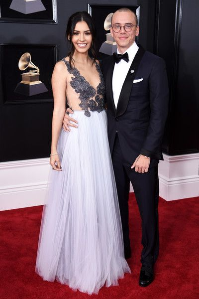 Logic and Jessica Andrea    - The Cutest Couples at the 2018 Grammy Awards - Photos